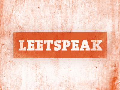 Leetspeak